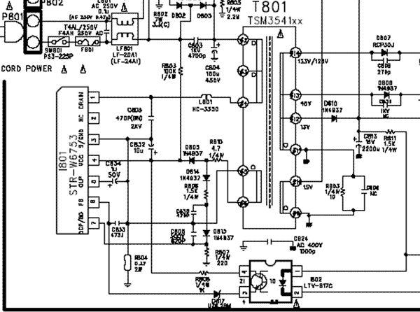 Strw 6753 схема - Параметры и