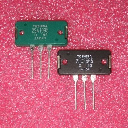 2SA1095 // 2SC2565 Toshiba