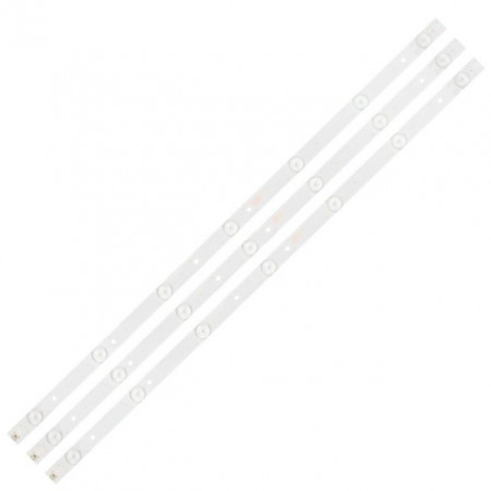 "LED Bar 32"" 7LED SET 3BUC PAN"