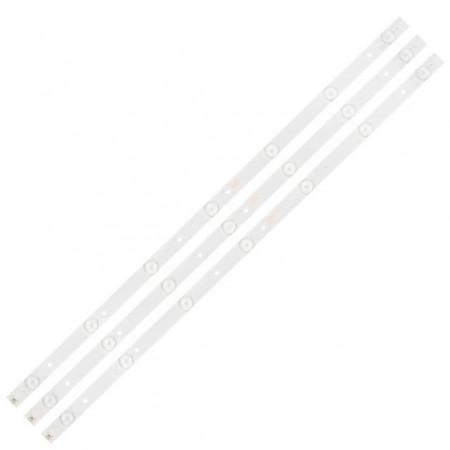 """LED Bar 32"""" 7LED SET 3BUC PN-EL-32-21"""