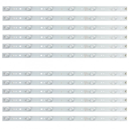"LED Bar 50"" 6LED SET 12BUC JVC"