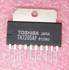 TA7205AP Toshiba le2