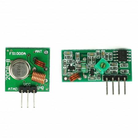 Kit Emitator - Receptor RF 433Mhz