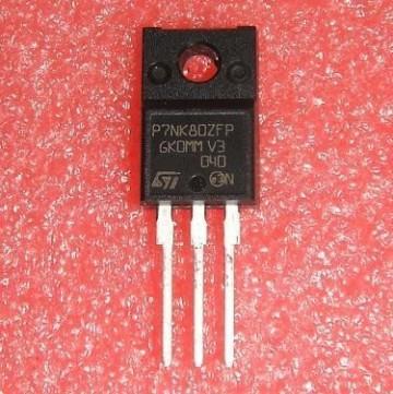 STP7NK80ZFP ST®