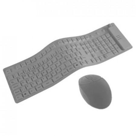 Tastatura + Mouse Flexibile