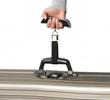 Cantar bagaje Argintiu 50Kg