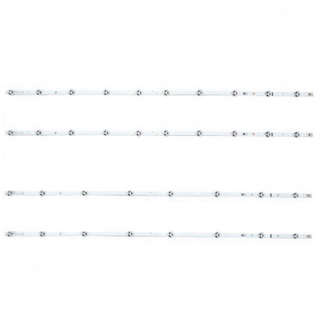"""LED Bar 43"""" 8-10LED SET 4BUC A-B"""