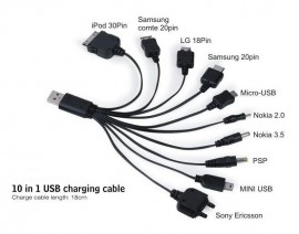 Poze 10 in 1 USB Multi Charging Cable