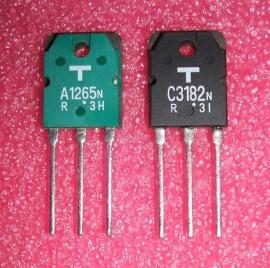 2SA1265 // 2SC3182 Toshiba g/b