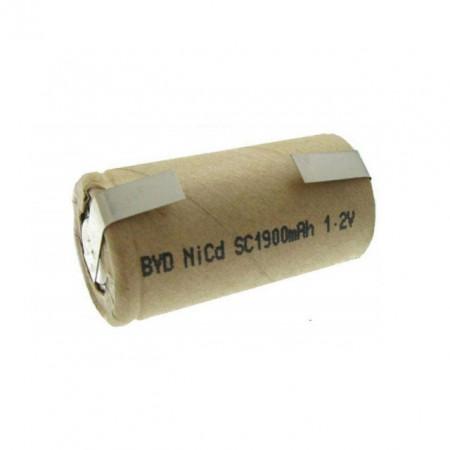 Acumulator 1,2V 1900mAh NiCd terminale