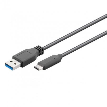 Cablu USB A 3.0 la USB C 3.0 - 1m