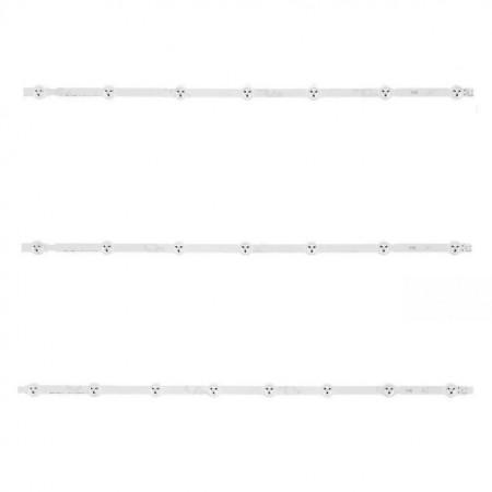 "LED Bar 32"" 7-8LED SET 3BUC A1-A2"