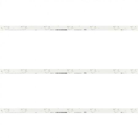 """LED Bar 32"""" 7LED HD315DH Hisense 3V"""