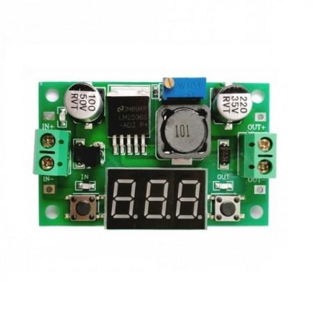 Modul Sursa LM2596S-ADJ + Display