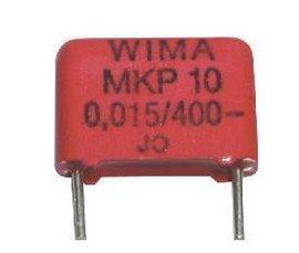 0,015uF / 15nF /400V Wima sk