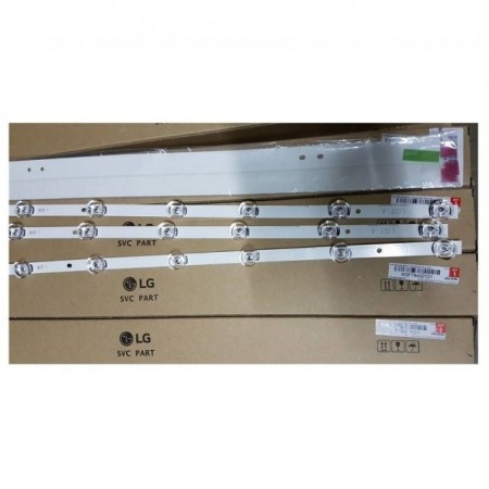 "LED Bar 32"" 6LED SET 3BUC A-B 6V"