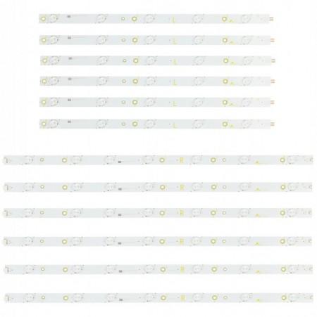 "LED Bar 50"" 5-7LED SET 12BUC PHI"