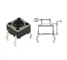 Tact switch 6x6x4 PCB