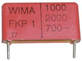 1000pF/1600V Wima