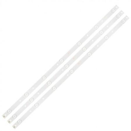 """LED Bar 32"""" 7LED SET 3BUC LB32080 PHI"""