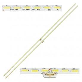 """LED Bar 55"""" 64LED SET 2BUC Sharp"""