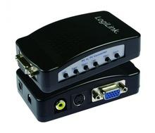 Convertor PC-VGA la TV-RCA +S-Video