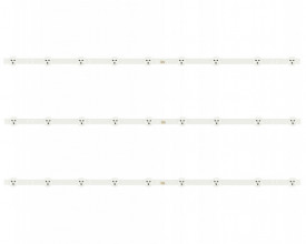 "LED Bar 32"" 9LED SET 3BUC PHI"