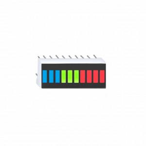 10 LED Bargraph Display RGB