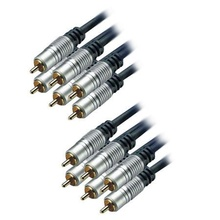 6 RCA - 6 RCA Home Theatre Gold 5M