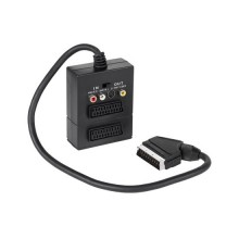 Adaptor Scart 3x RCA SVHS + comutator