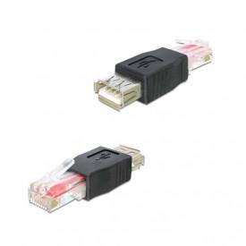 Adaptor USB-A mama la RJ45 tata