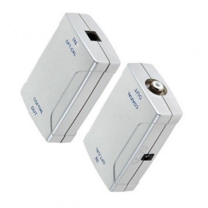 Convertor Digital Optic Toslink la Coaxial RCA