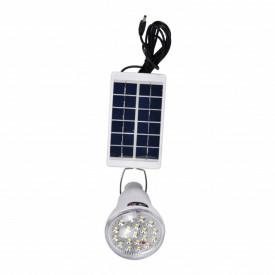 Kit Panou Solar, Acumulator, Proiector 20LED