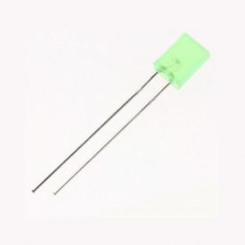 LED verde dreptunghiular 3V 5x2mm