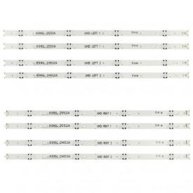 """LED Bar 49"""" 4LED SET 8BUC LG UHD"""