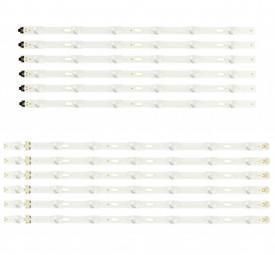 """LED Bar 50"""" 6-7LED SET 12BUC SAM"""