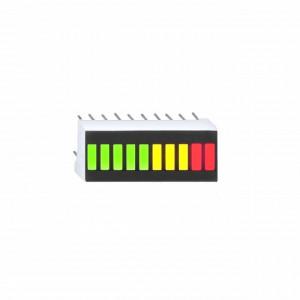 10 LED Bargraph Display GYR