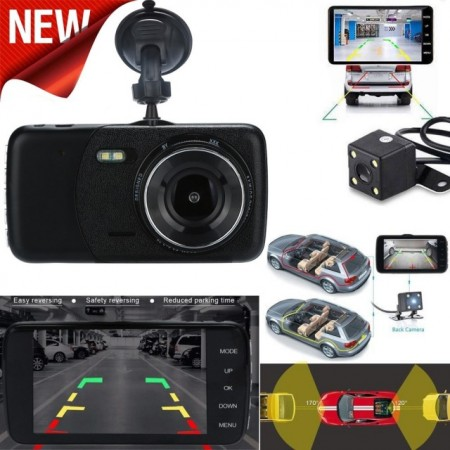 Poze Camera auto bord dual FHD
