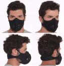 Masca de Protectie cu Filtru de Carbon, 2 Valve
