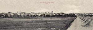 Poze Craiova, 1905, vedere panoramica rara, poster 100 x 33 cm
