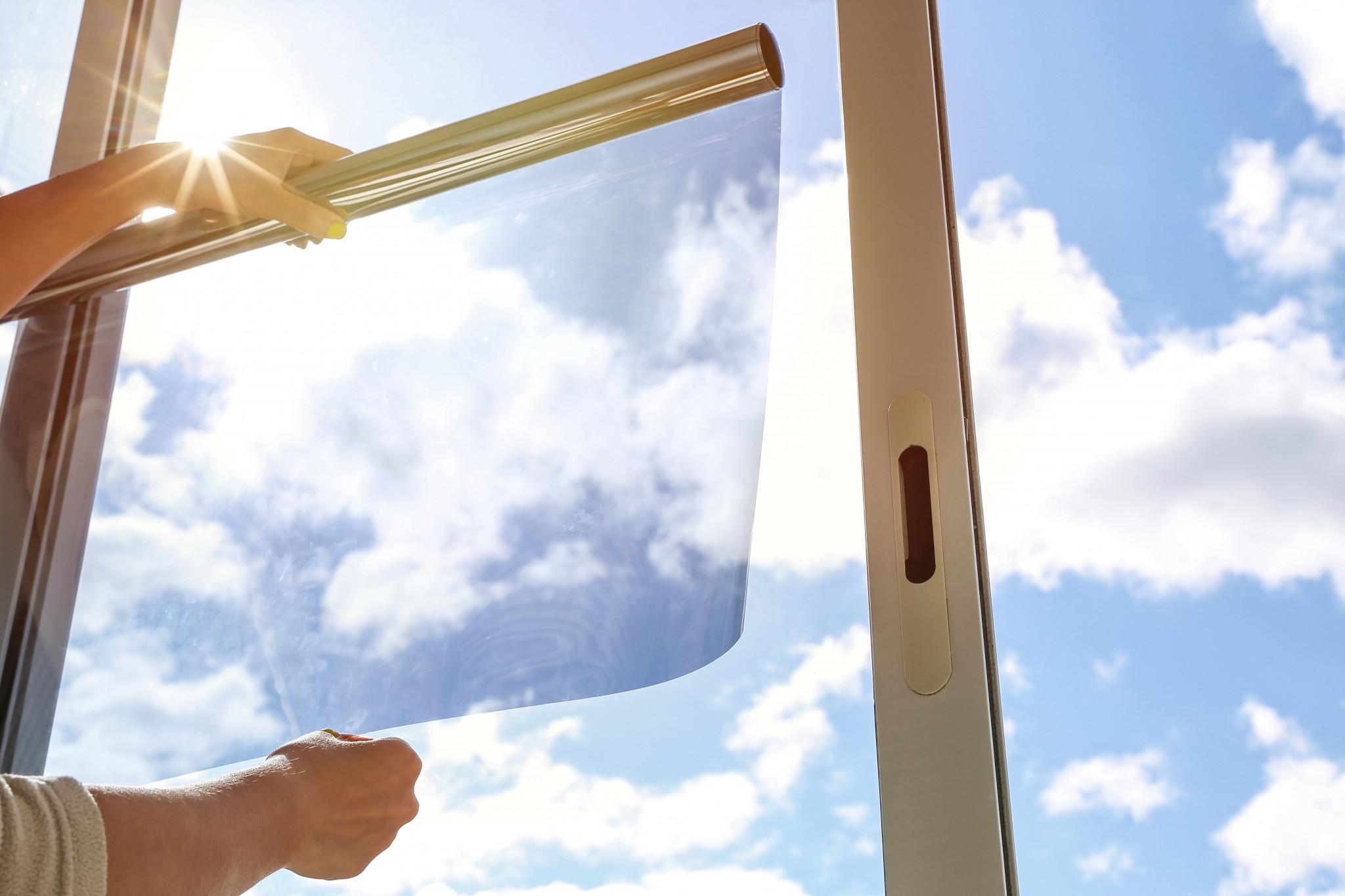 Folie protectie solară