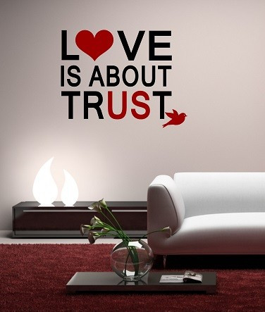 Poze Love is about trust
