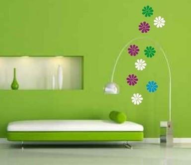 Colectie flori pentru perete
