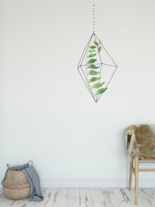 Natura in colivie 5 - sticker decorativ