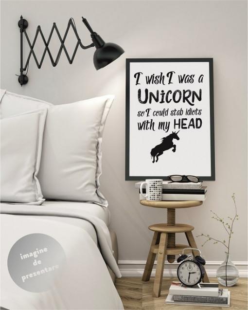 Poze Tablou Unicorn