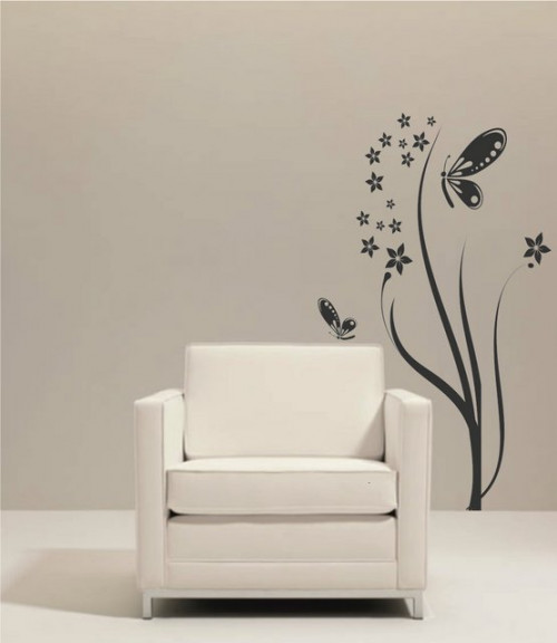 Flori, fluturi.....decor