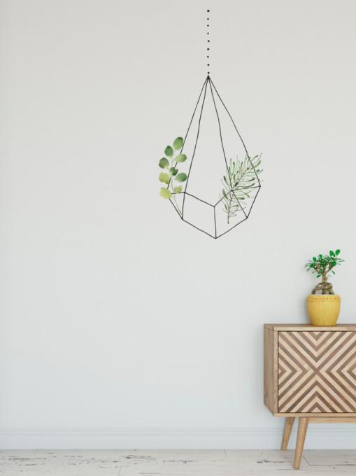Natura in colivie 1 - sticker decorativ