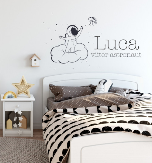 Dragoste pentru univers - sticker decorativ