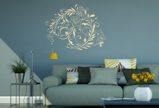 Oriental - sticker decorativ