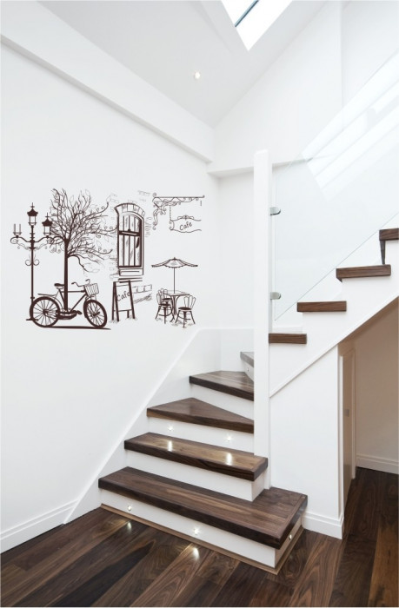 Citadin-sticker decorativ